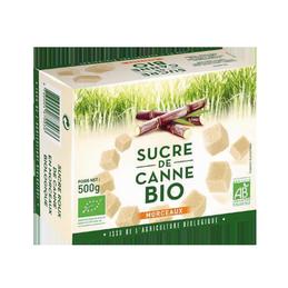 Sucre de canne morceaux 500g